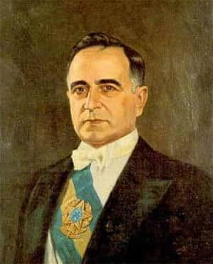 Pintura do Getúlio Vargas Presidente no seu segundo mandato