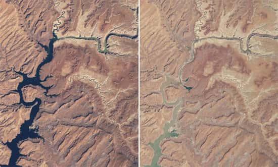 Lago Powell, no Arizona e Utah