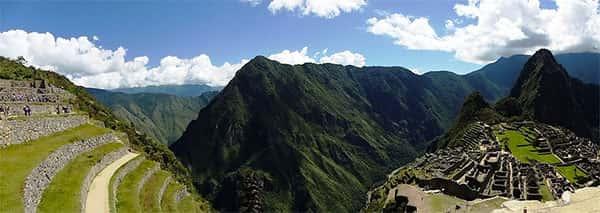 Machu Picchu vista panoramica
