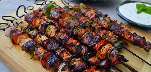 Kebab, comida turca