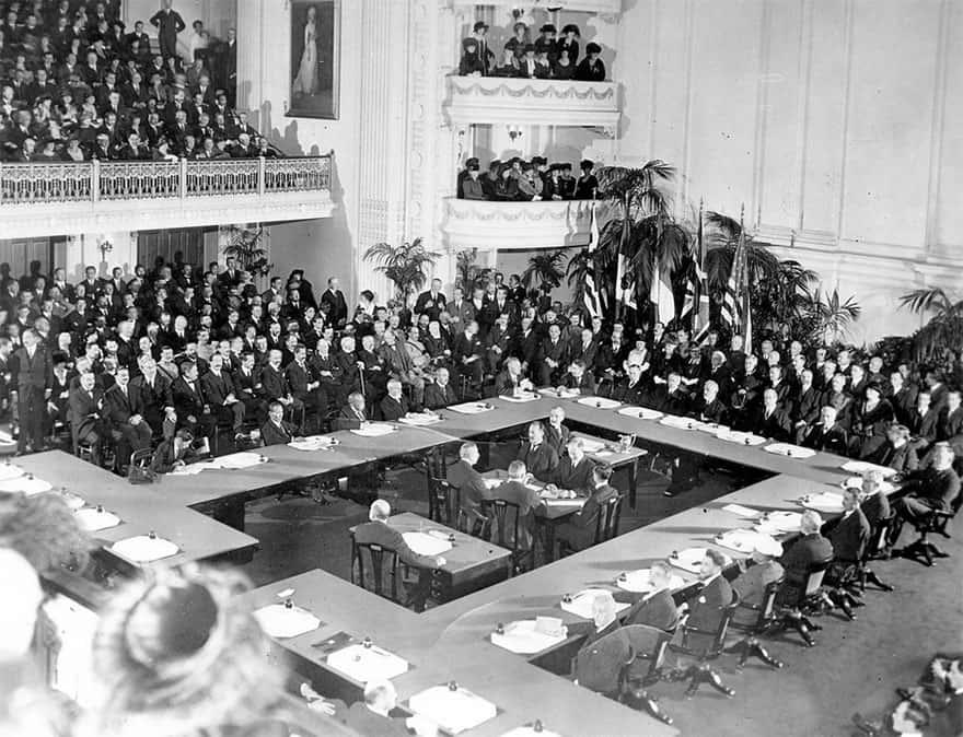 Os Tratados de Paz da Primeira Guerra Mundial