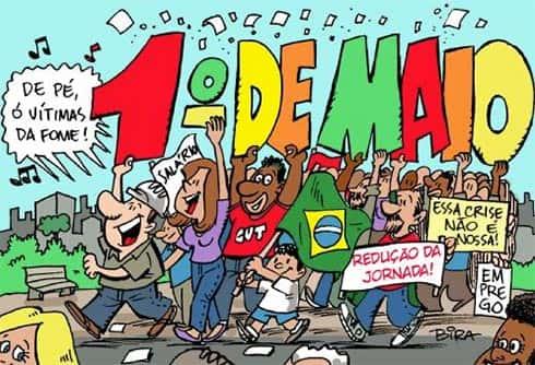 Dia do trabalho no Brasil