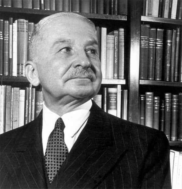 Ludwig von Mises Foto