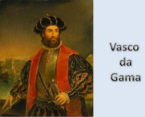 Retrato Pintura Vasco da Gama
