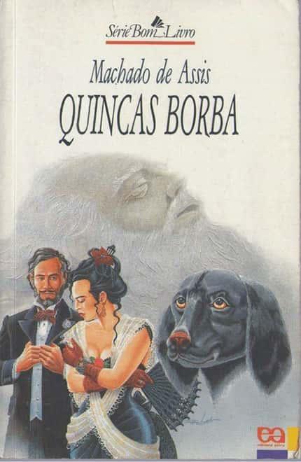 Capa do livro Quincas Borba