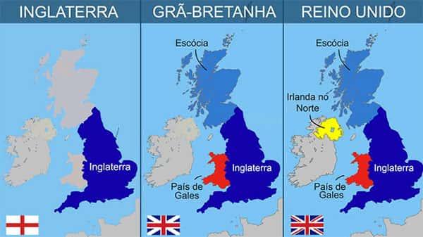 Entenda a diferença entre Inglaterra, Grã-Bretanha e Reino Unido