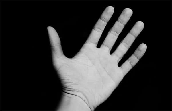 Tecido da Mão