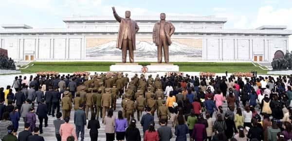 Ditadores da Coreia do Norte, Monumento