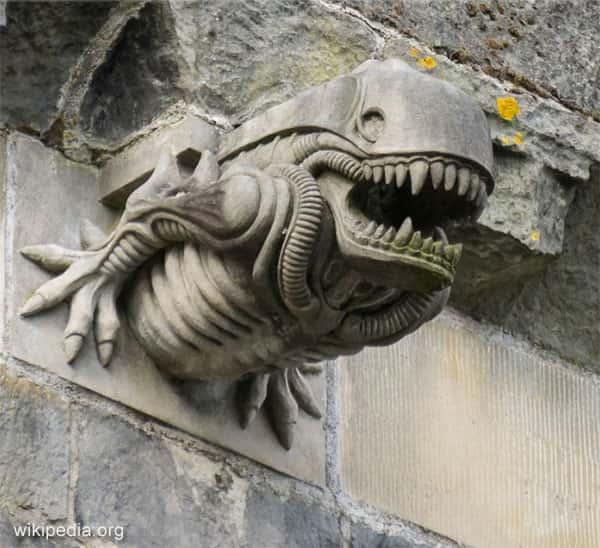 Gárgola Alien