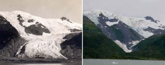 Glaciar Toboggan, no Alasca