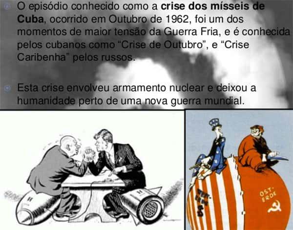 Resumo do que foi a crise dos misseis, crise de outubro, crise caribenha