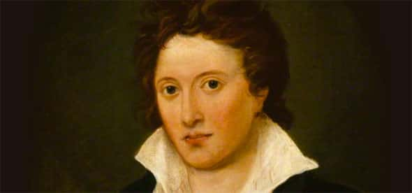Percy Bysshe Shelley, marido de Mary Shelley