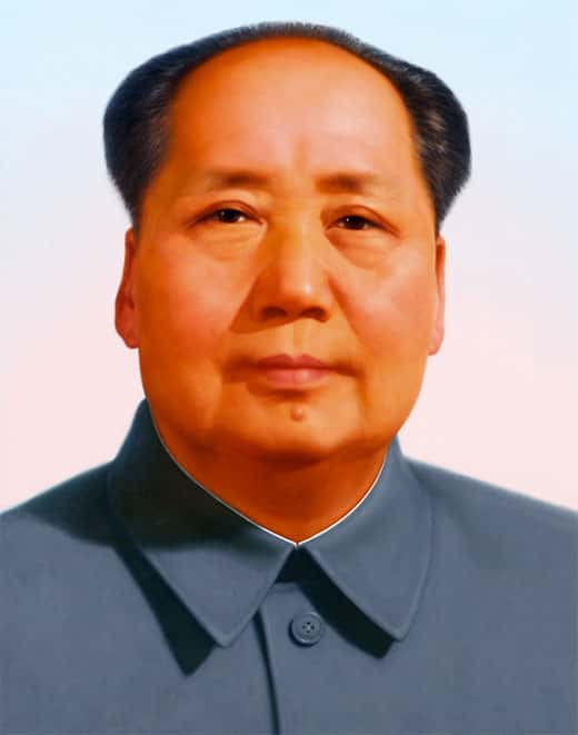 Foto do Mao Tsé-Tung