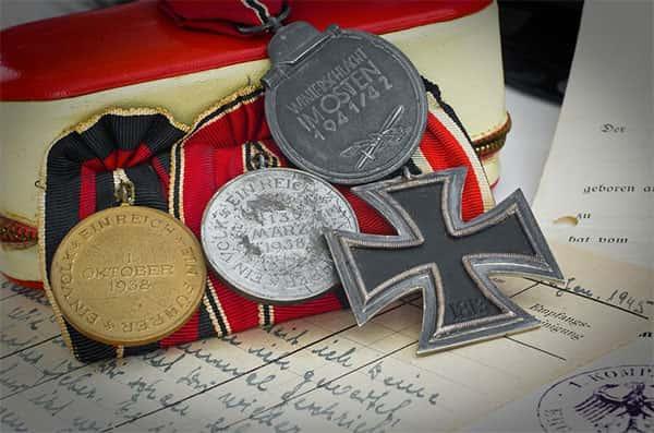 Documentos, Medalhas Nazistas