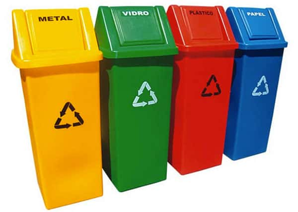 Latas de Lixo Reciclavel