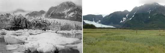 Glaciar Pedersen, no Alasca