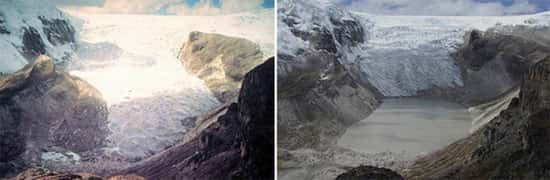 Glaciar Qori Kalis, no Peru