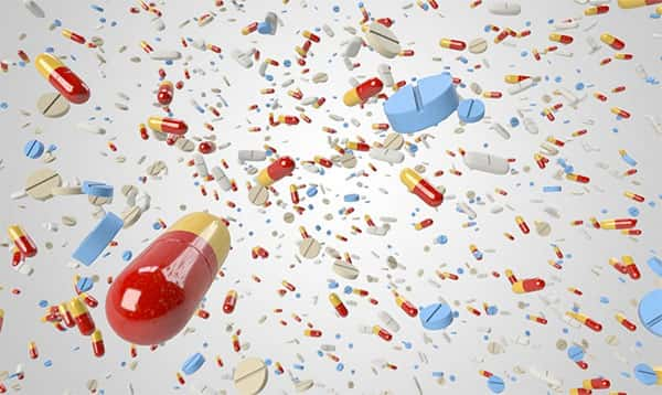 antibióticos, comprimidos
