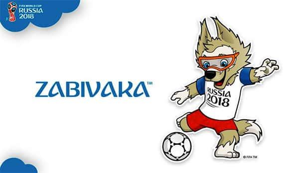 Mascote Zabivaka Copa do Mundo Rússia 2018