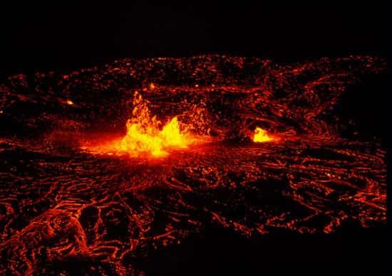 Lava vulcânica