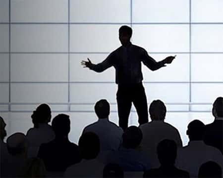 Falando em publico, Liderança