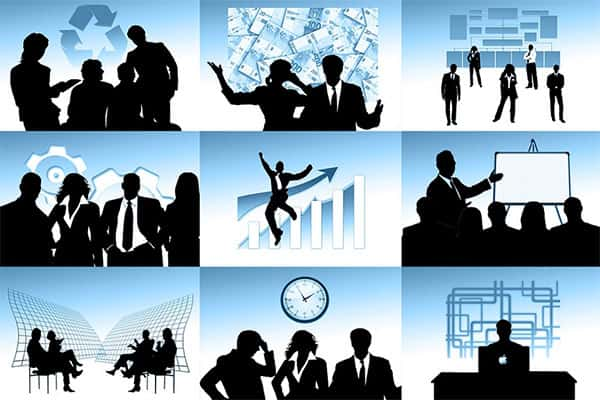 Setores de uma empresa, organização